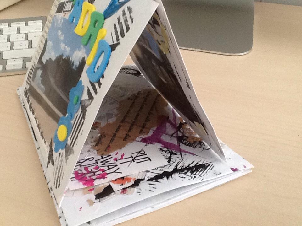 Mini album scrap  recuerdo de MADRID (5/6)