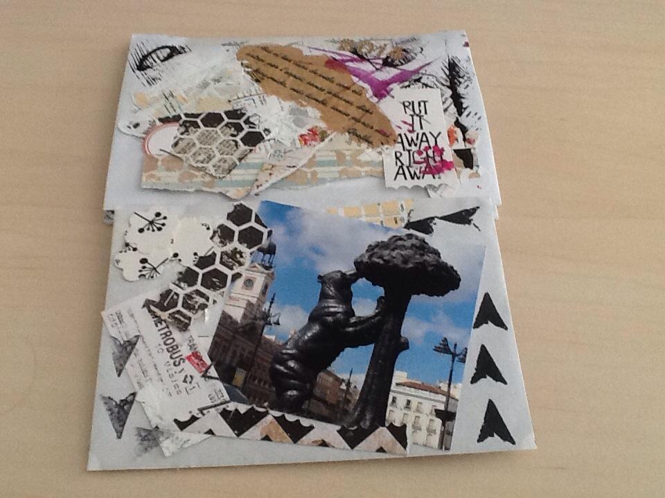 Mini album scrap  recuerdo de MADRID (6/6)