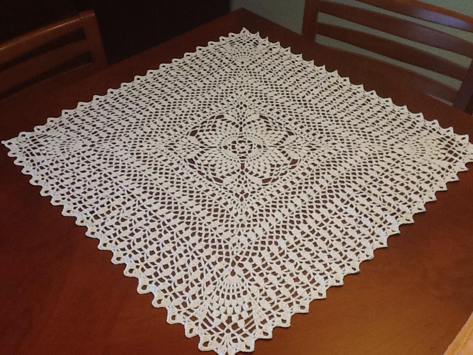 Patrones de tapetes cuadrados patrones ganchillo crochet - Patrones tapetes ganchillo ...