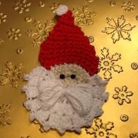 Papa Noel en ganchillo