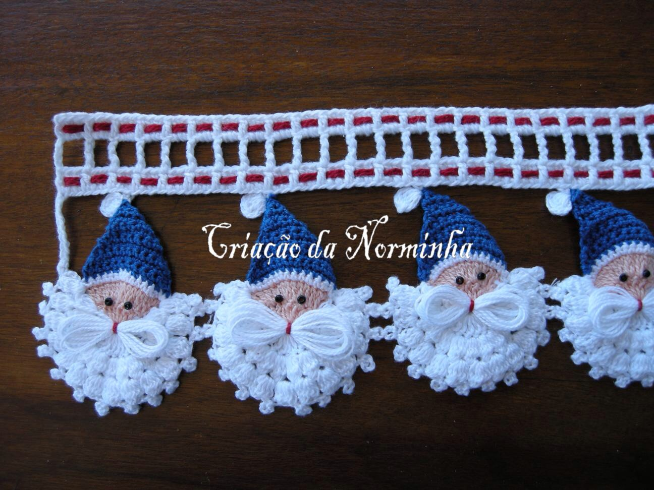 Papa noel en ganchillo rinc n de colores for Decoracion del hogar con crochet