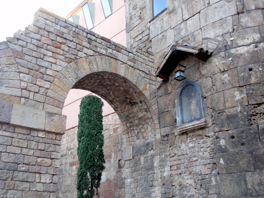 muralla de barcelona