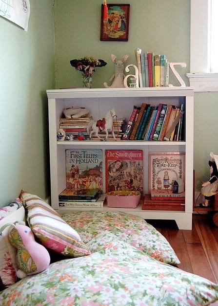 Ideas para un rincón de lecturainfantil