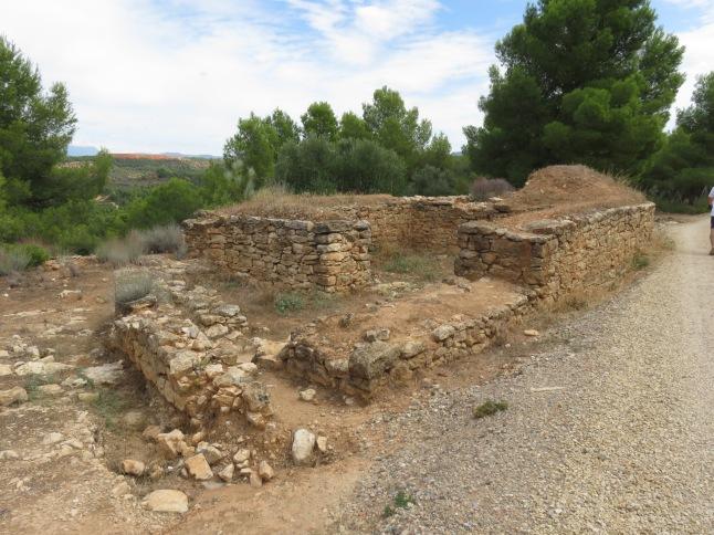 poblado ibérico del castellet de banyoles