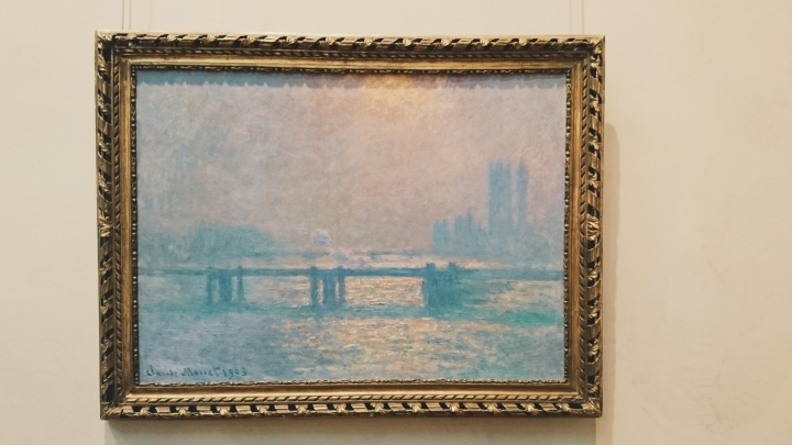 Charing Cross Bridge - Monet