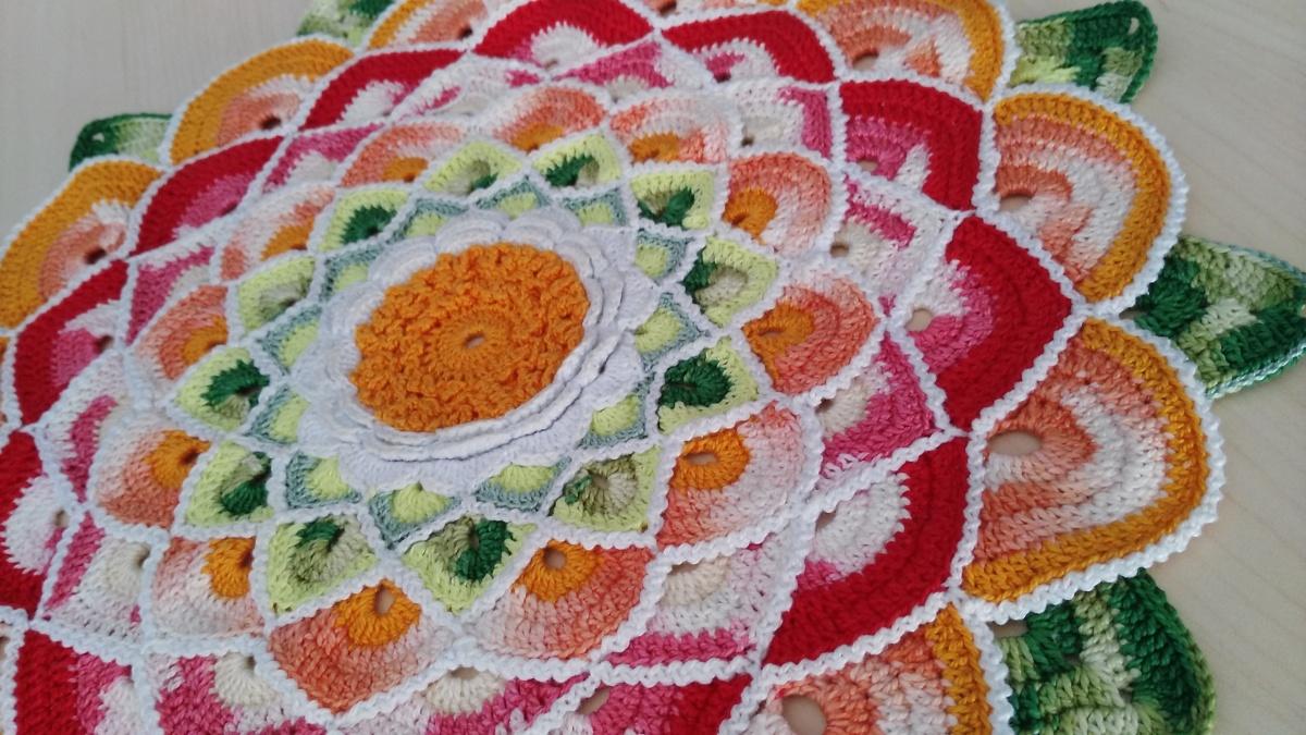 Tapete Mandala de flor