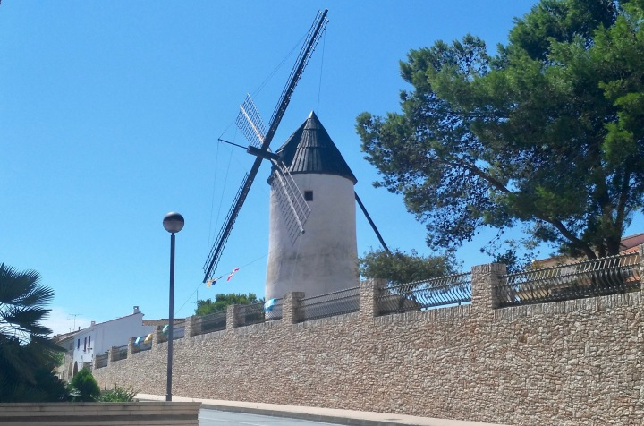 moli de vent El Perelló
