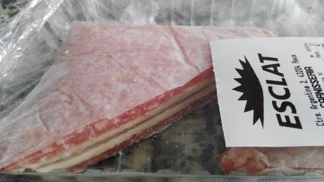 Bikini de carne de cerdo