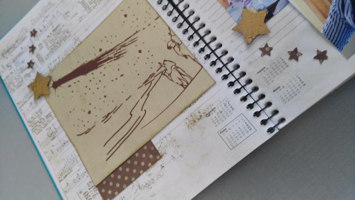 diario creativo scrap