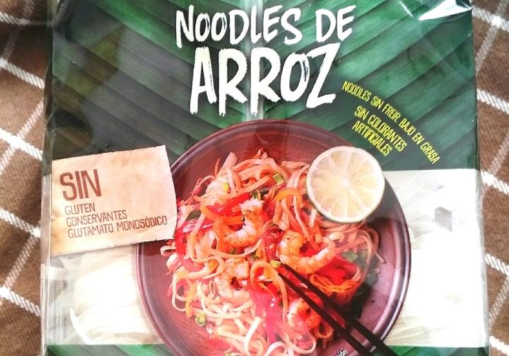 Noodles de arroz, menúdiario