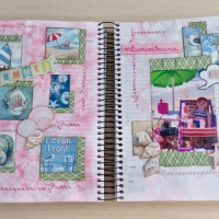 Diario creativo de scrapbooking (2ª parte)