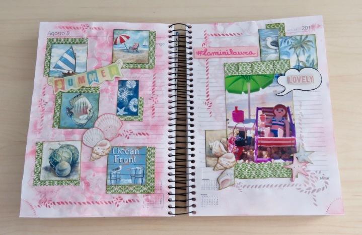Diario creativo de scrapbooking (2ªparte)