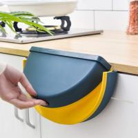 Cubo de basura colgante y plegable, una solución para el reciclaje