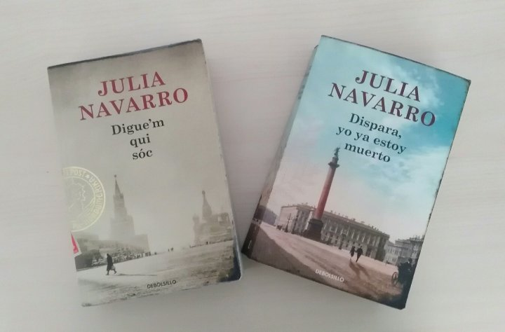 Los libros de JuliaNavarro