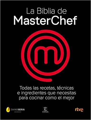 El libro de MasterChef, lleno de recetas y trucosculinarios