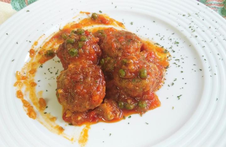Receta de Albóndigas en salsa de tomate con MonsieurCuisine