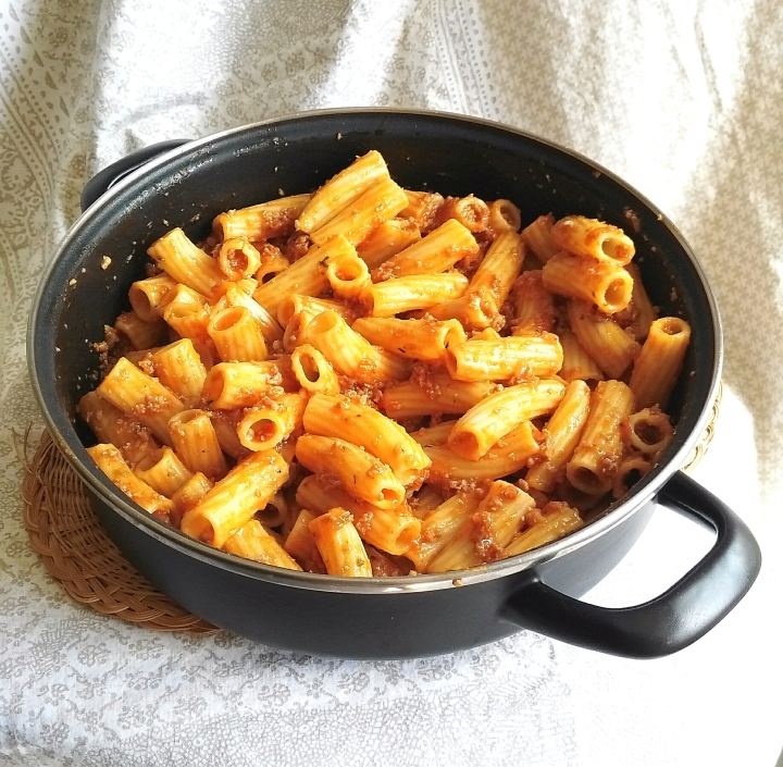 Receta de salsa boloñesa con Monsieurcuisine