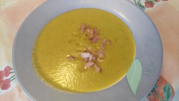Crema de verduras con MonsieurCuisine