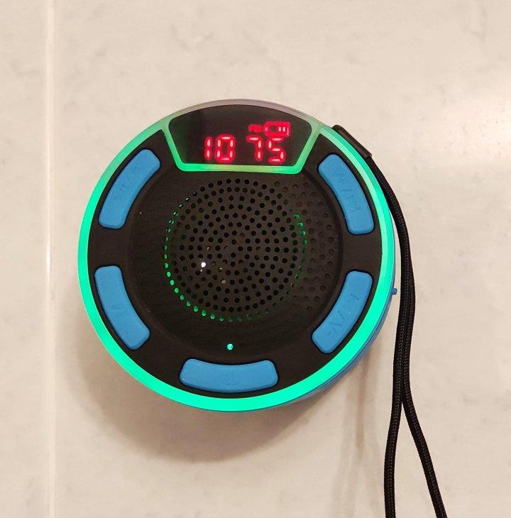 Radio para laducha